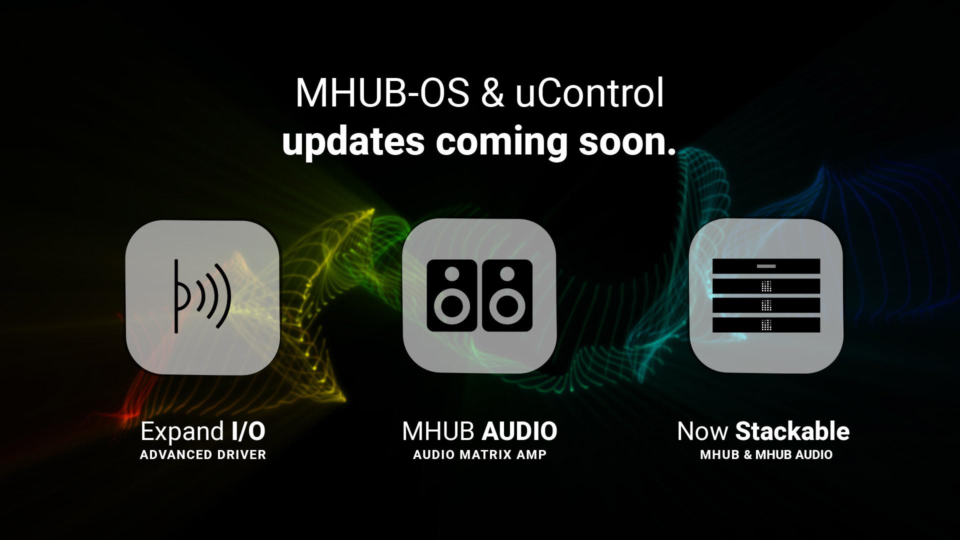 MHUB-OS 8 and uControl 2