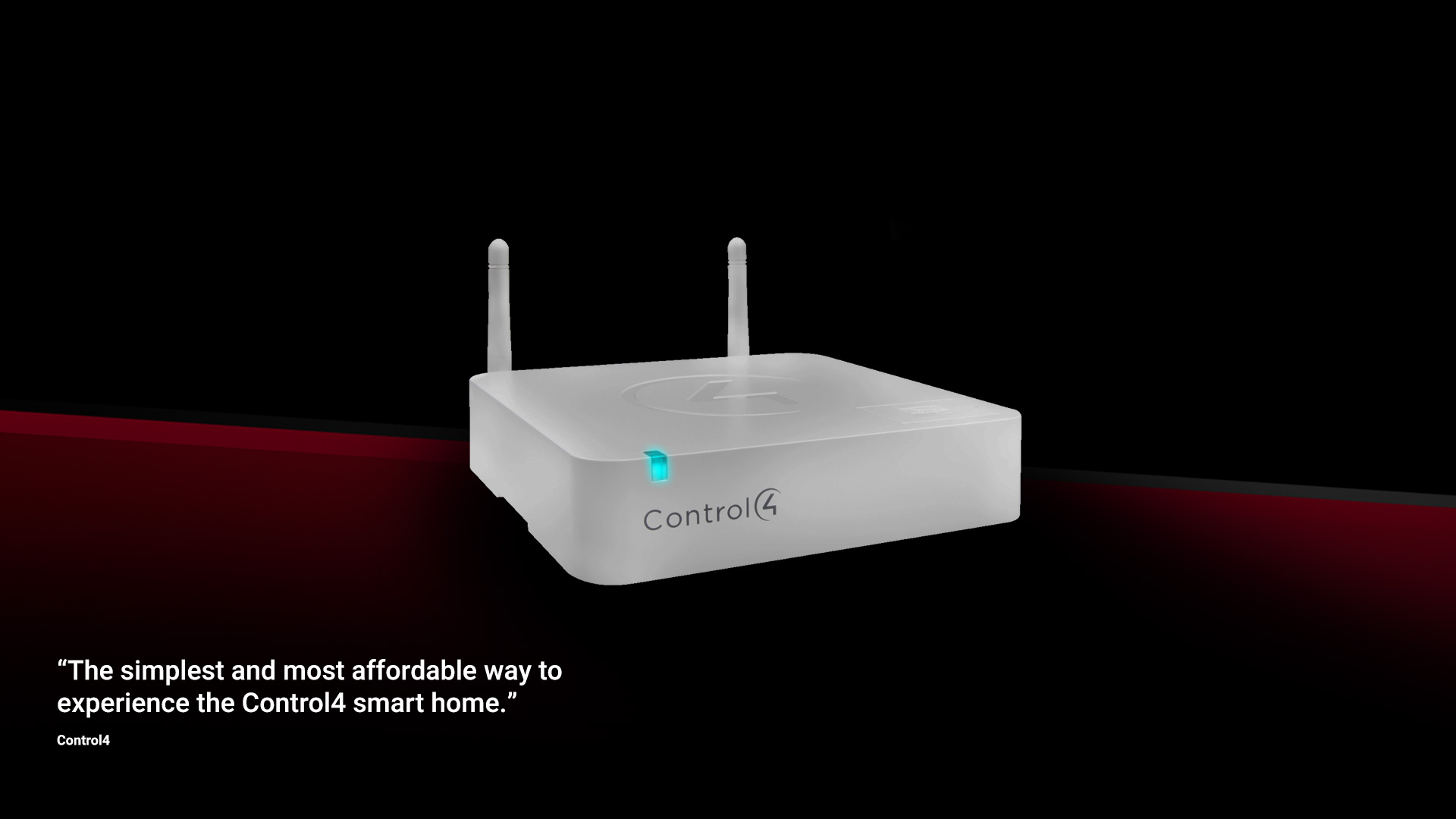 MHUB works perfectly with controllers like Control4 CA-1