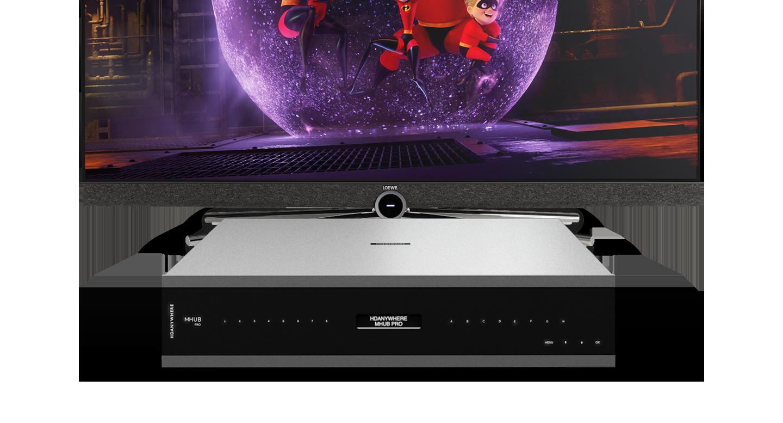 Loewe Bild TV and MHUB PRO (8x8)