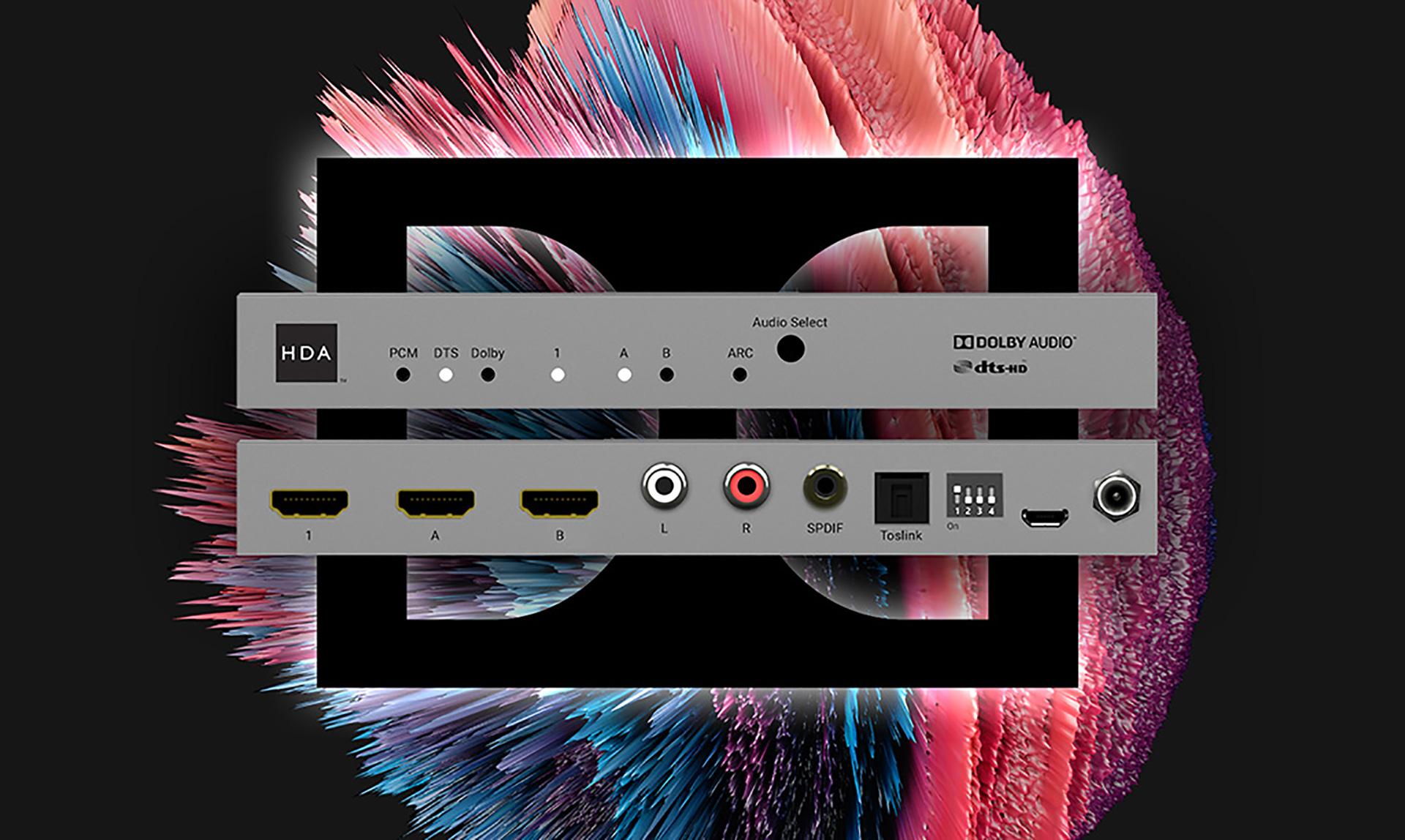 Dolby™ & DTS® AV Signal Manager