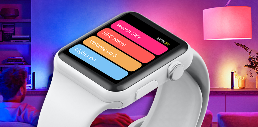 Lighting and uControl - now on your Apple Watch