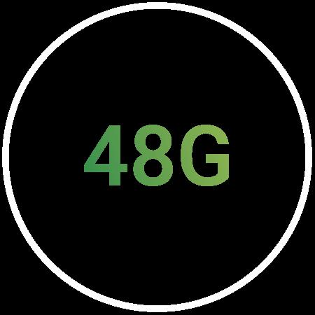 48G Bandwidth