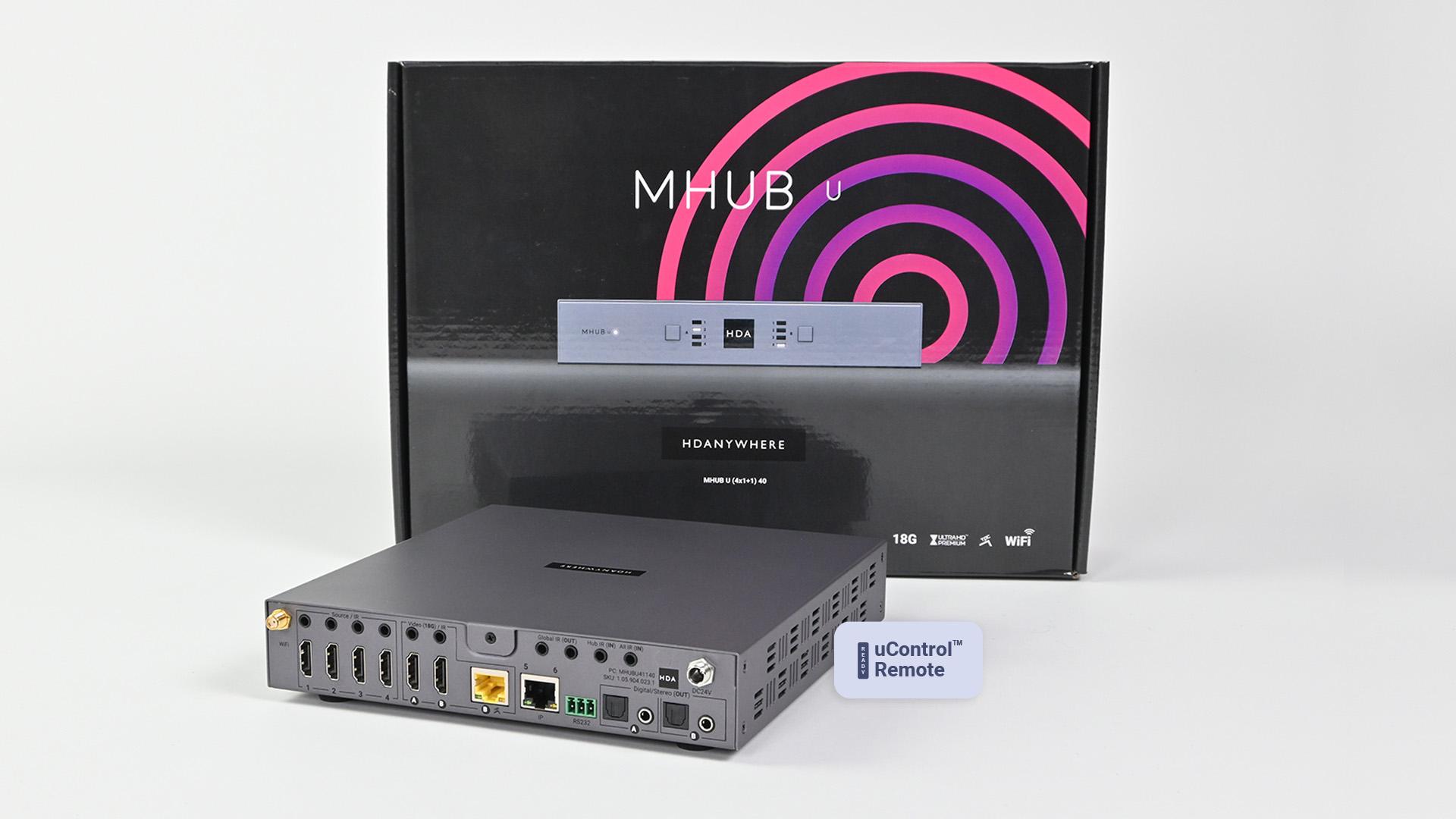 MHUB U (4x1+1) 40