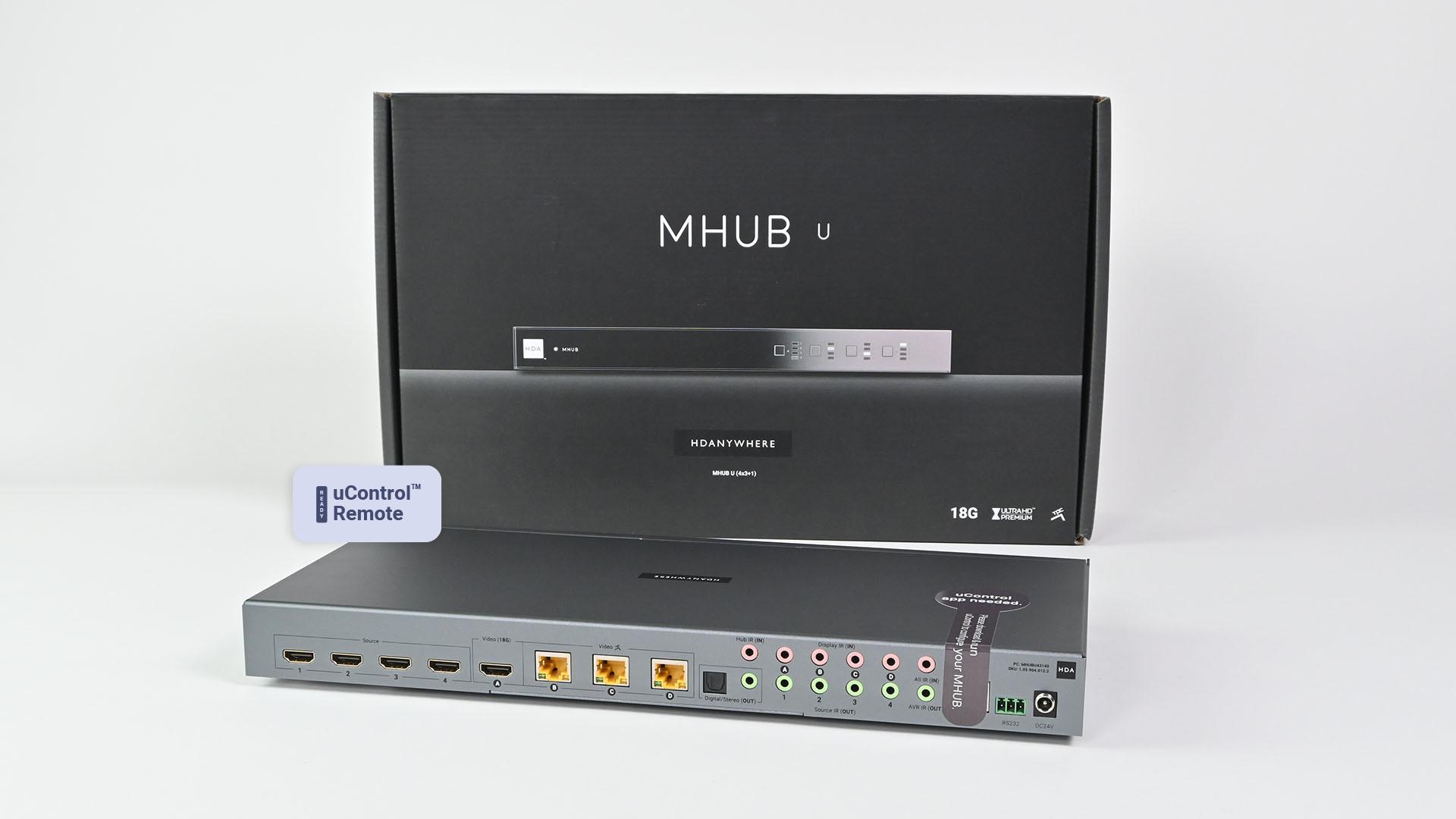 MHUB U (4x3+1)
