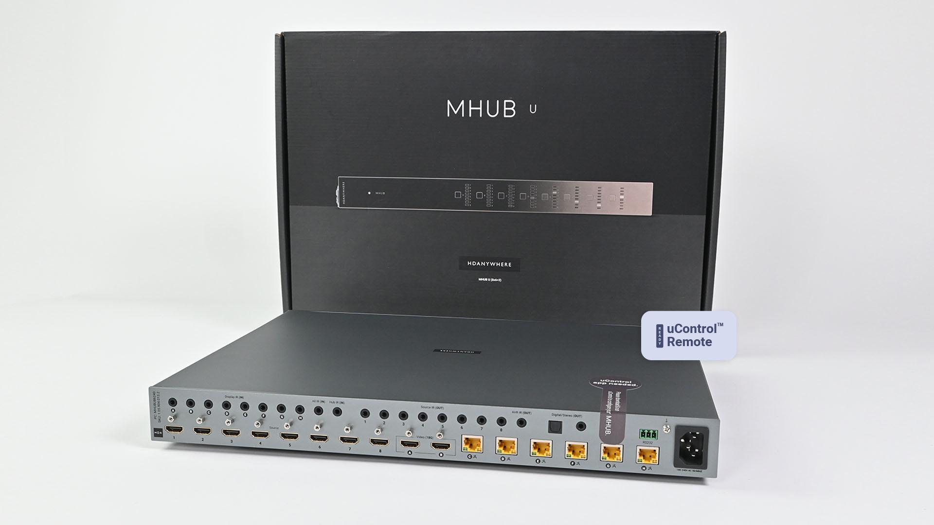 MHUB U (8x6+2)